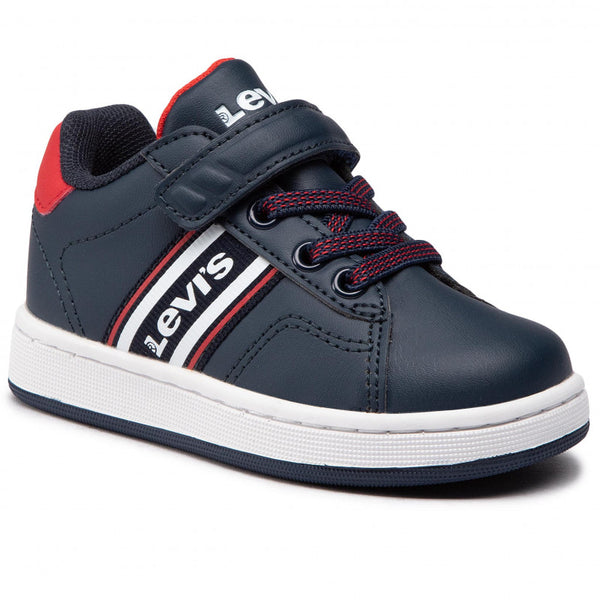 Levis Shoes Boy NAVY Brandon Velcro Strap Brandon - 53 Main Street