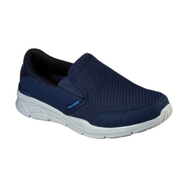 Skechers Mens Relaxed Fit Equalizer 4.0 Slip On Memory Foam 232017 NVY