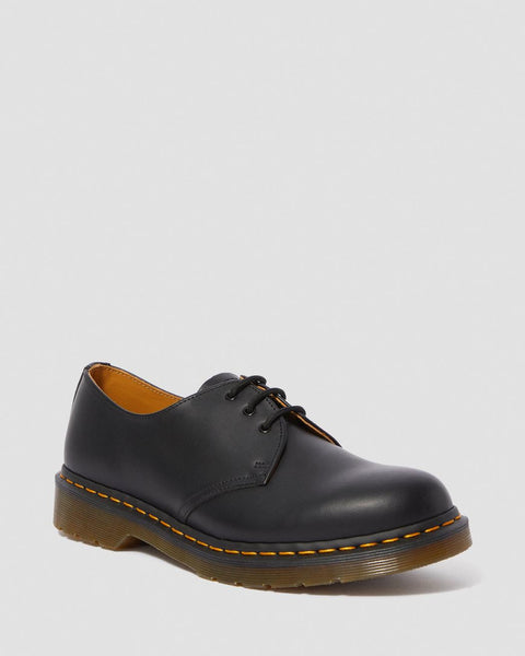 Dr Martens 1461 SMOOTH LEATHER SHOES Docs Dms BLACK - 53 Main Street