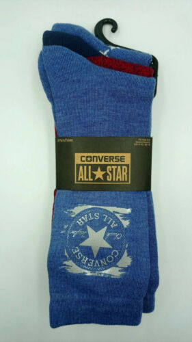 Converse Ladies Socks Trainer Liner 3 Pack Long Cut Black Quality Style J - 53 Main Street
