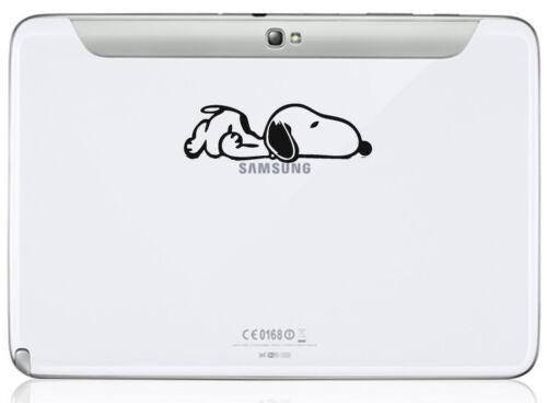 Snoopy Dog Decal - Vinyl Sticker for Tablet iPad Mac Macbook Laptop Kindle X 2 - 53 Main Street