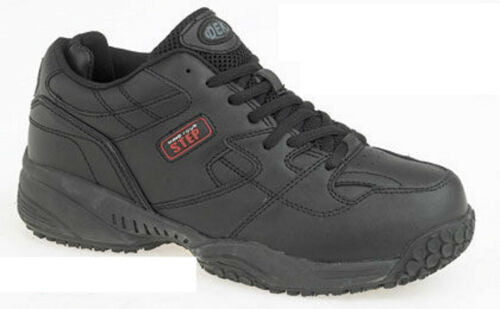 Mens Wide Fitting Trainers Non Slip Oil Resistant Work Size 6 7 8 9 10 11 12 13 - 53 Main Street