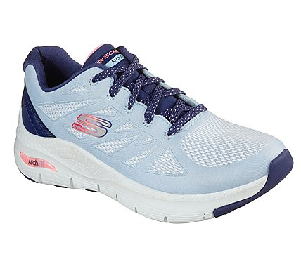 Skechers Ladies Arch Fit Trainer She's Effortless Arch Support Memory 149411