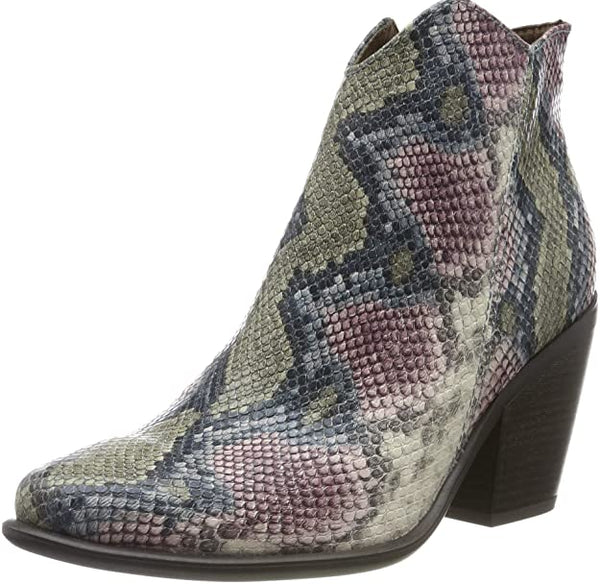 Marco Tozzi Ladies Snake Skin Boots - 53 Main Street