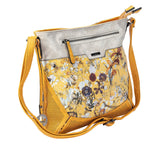 Rieker Handbag Shoulder Safron Floral Print Cross Over H1334-68
