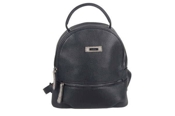 Rieker Handbag/Mini Backpack Rucksack Black - 53 Main Street
