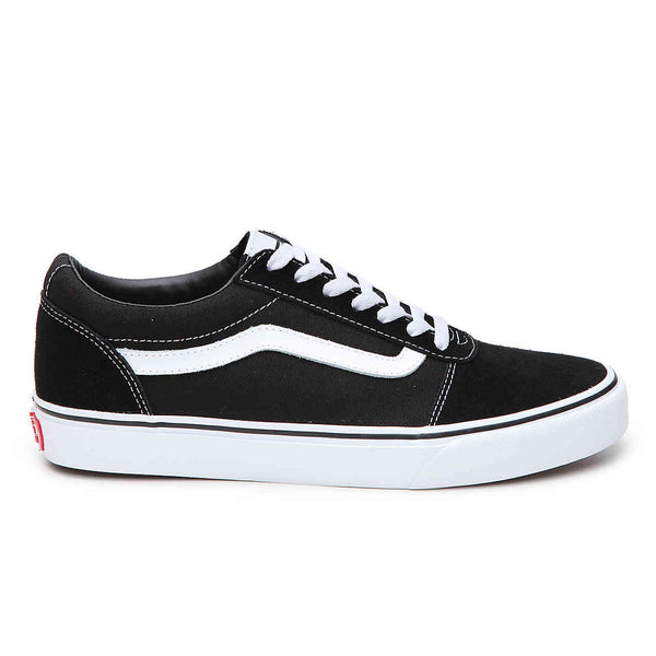 Mens Classic Black and White Vans Ward Old Skool Styling - 53 Main Street