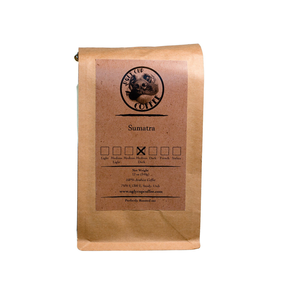 Organic Mandheling Sumatra Medium Dark - Ugly Cup Coffee
