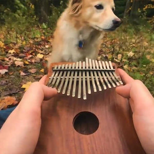 Kalimba 17 Keys Thumb Piano Instrument