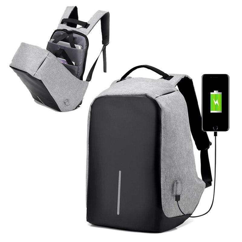 Anti-Theft Backpack USB Charging Bag