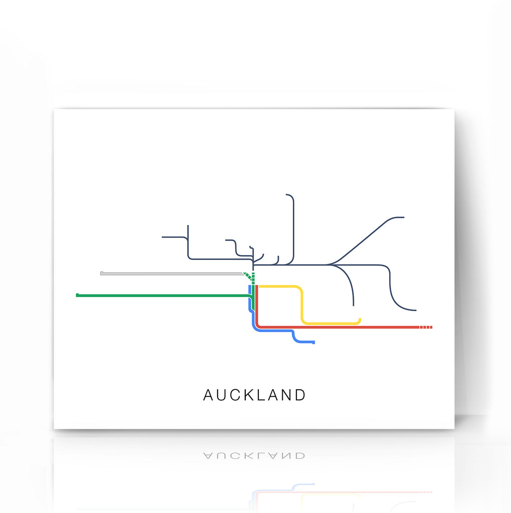 Auckland Transport Map