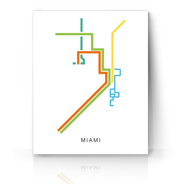 Miami Transit Map