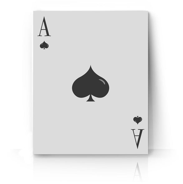 Ace of Spades Poster Print