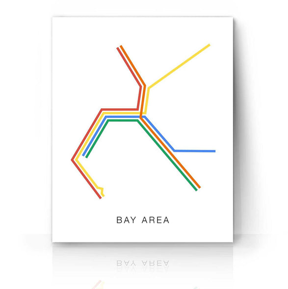 Bay Area Transit Map | The Camera Graphic