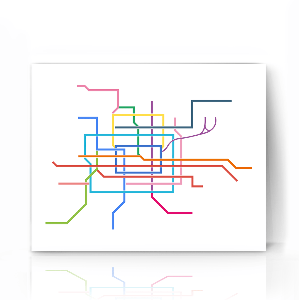 Beijing Transit Map