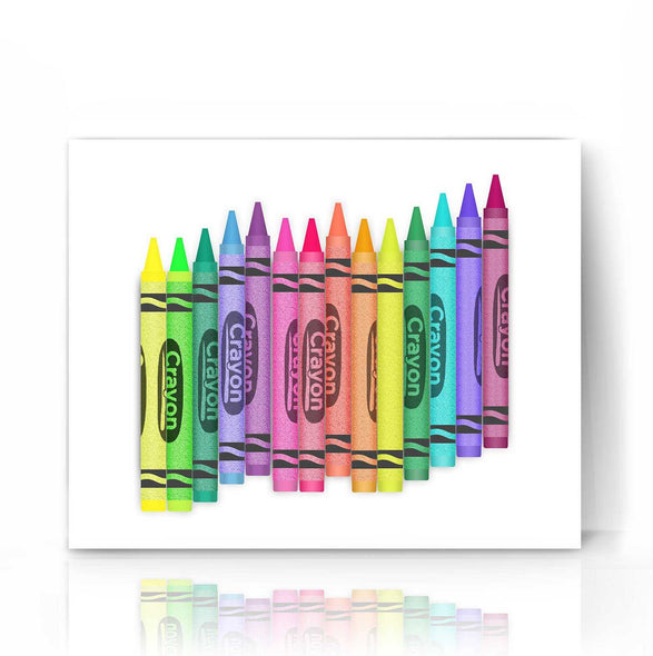 Crayons | The Camera Graphic