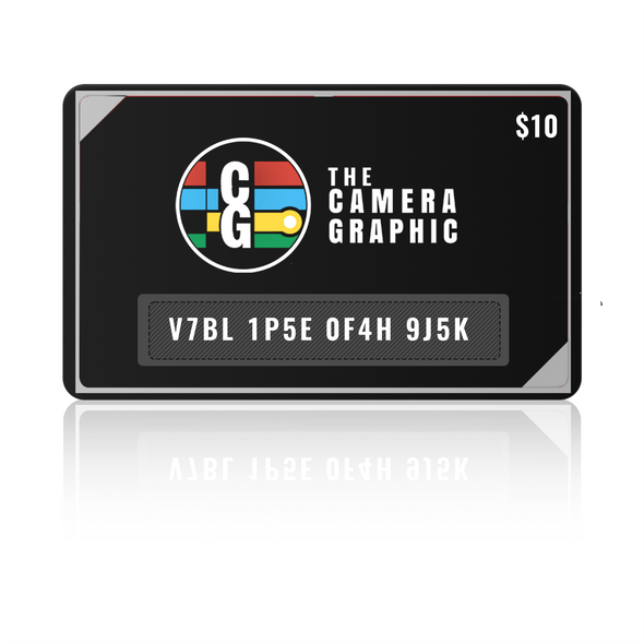 $10 Giftcard Purchase for The Camera Graphic.