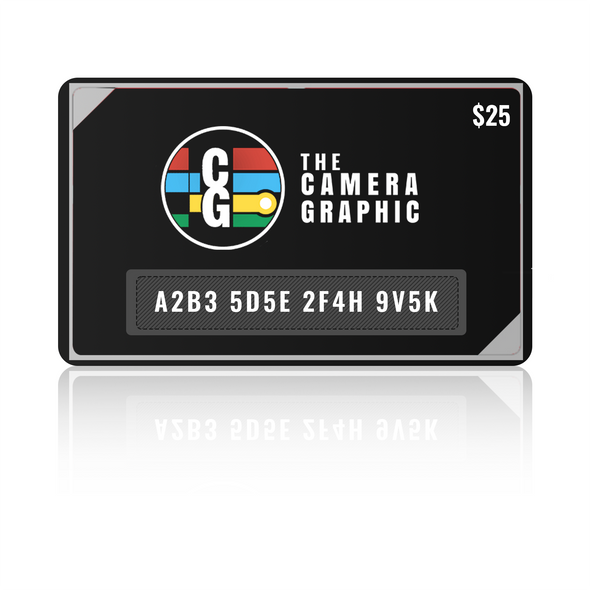 $25 Giftcard Purchase for The Camera Graphic.