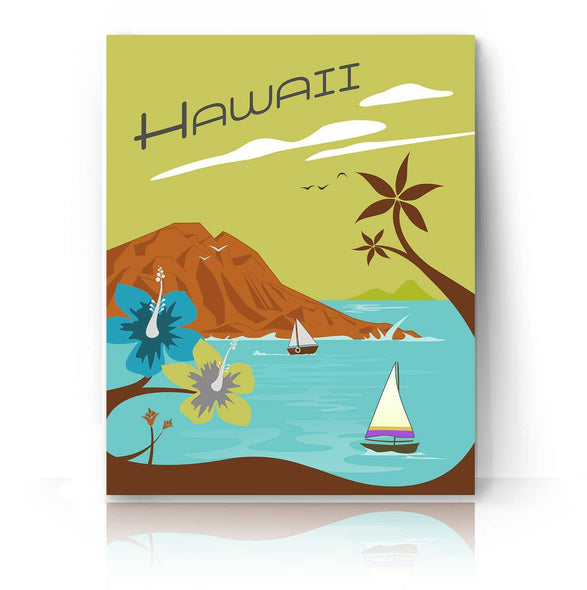 Hawaii - Vintage | The Camera Graphic