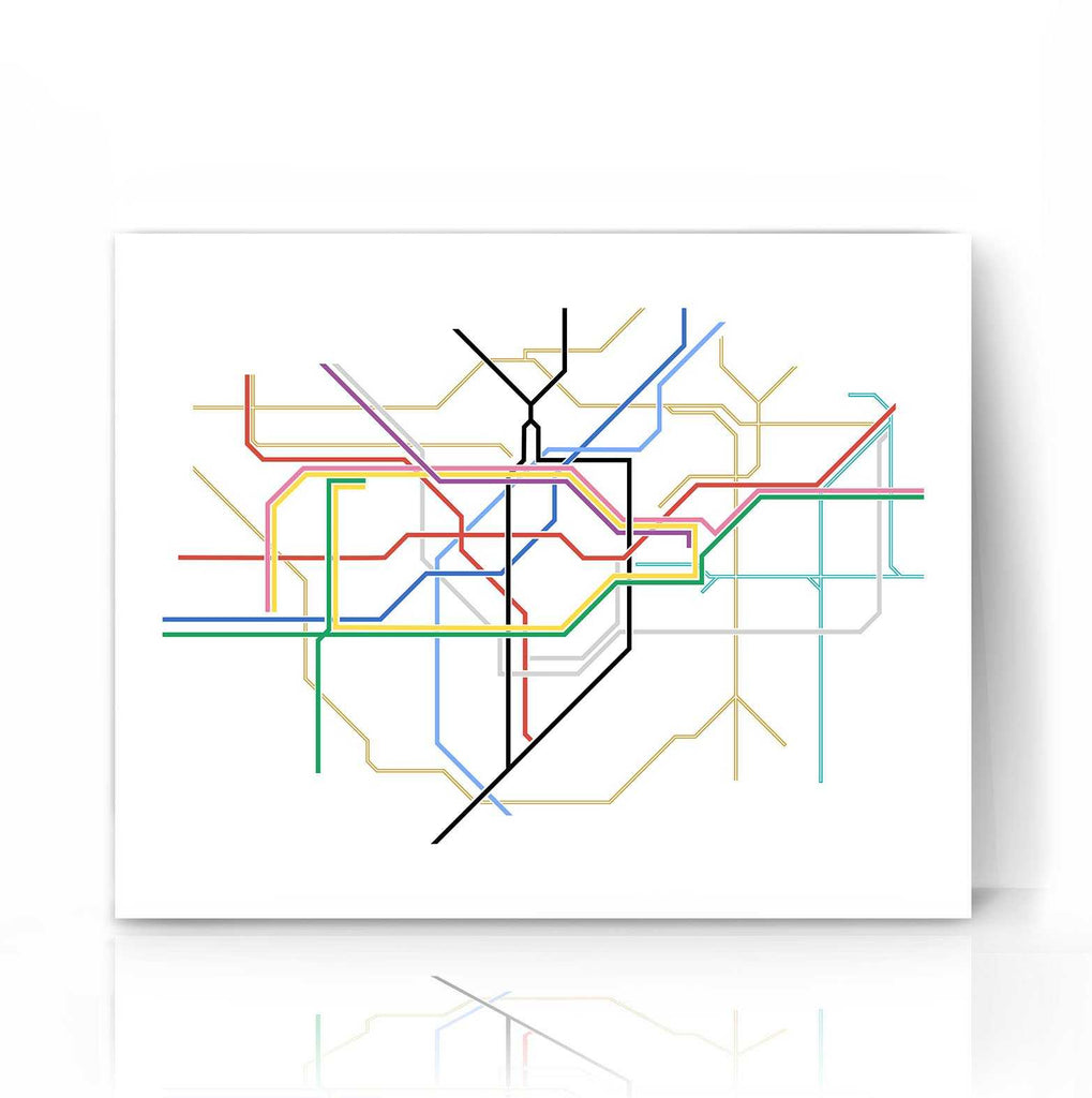 London Tube Map | The Camera Graphic