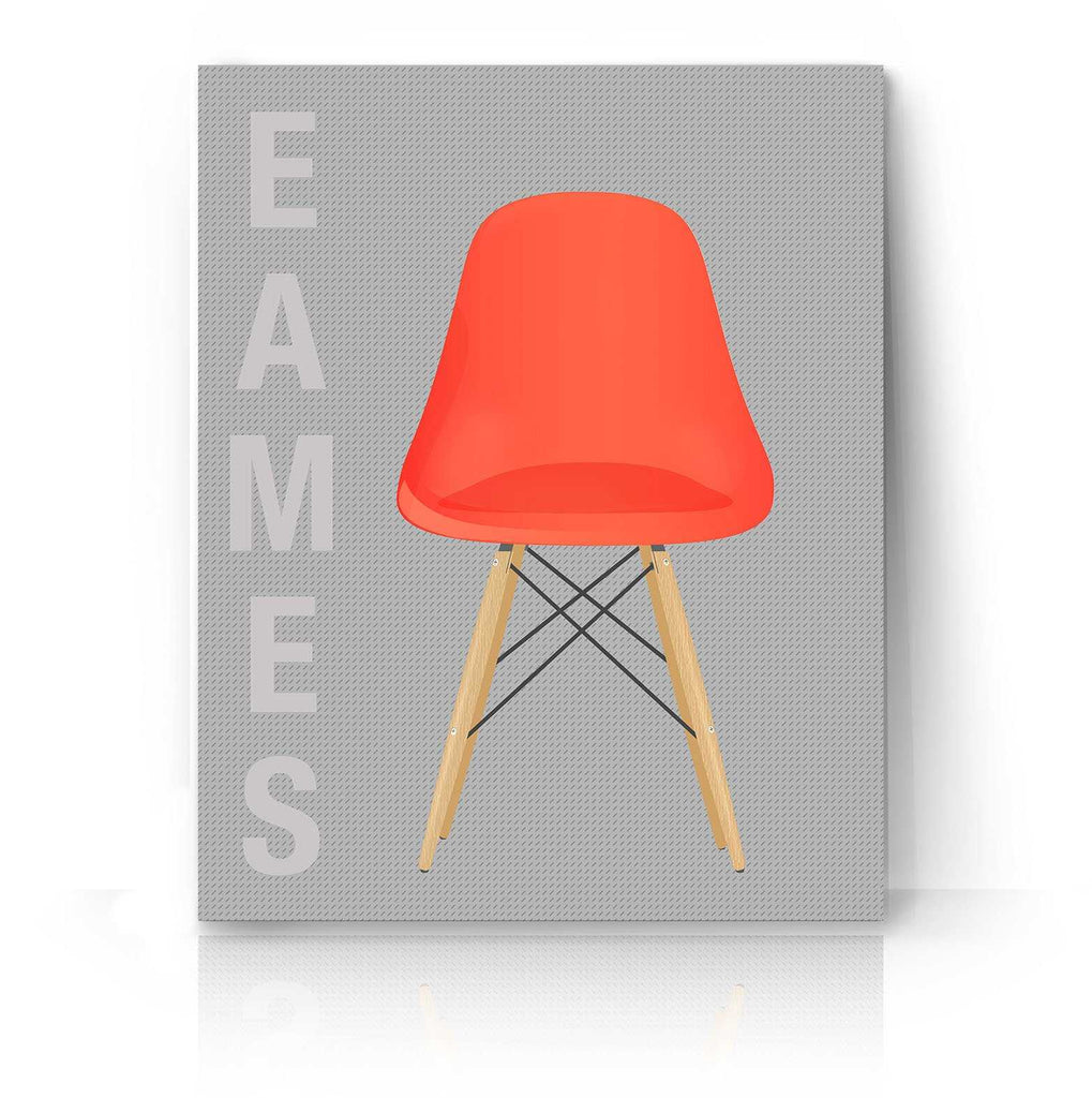 Red Eames Chair | The Camera Graphic