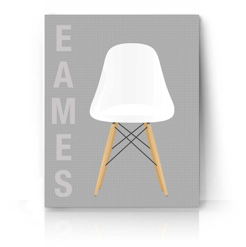 White Eames Chair | The Camera Graphic