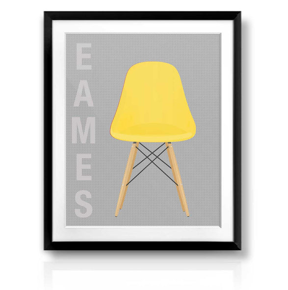 Yellow Eames Chair | The Camera Graphic