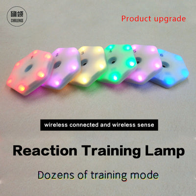 【queling】reaction training light lamp speed agility  response equipment basketball boxing fitlight blazepod siboasi