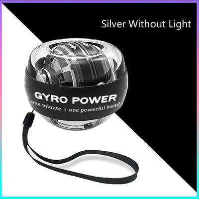 Self-starting Powerball Wrist Power Hand Ball Muscle Relax Spinning Wrist Trainer Exercise Equipment Strengthener with LED Light