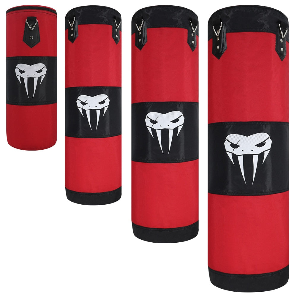 SOTF Boxing Sand Bag Empty Punching Bag Taekwondo Kickboxing mma Equipment Martial Arts Hanging Kick  Muay Thai Boxer Training