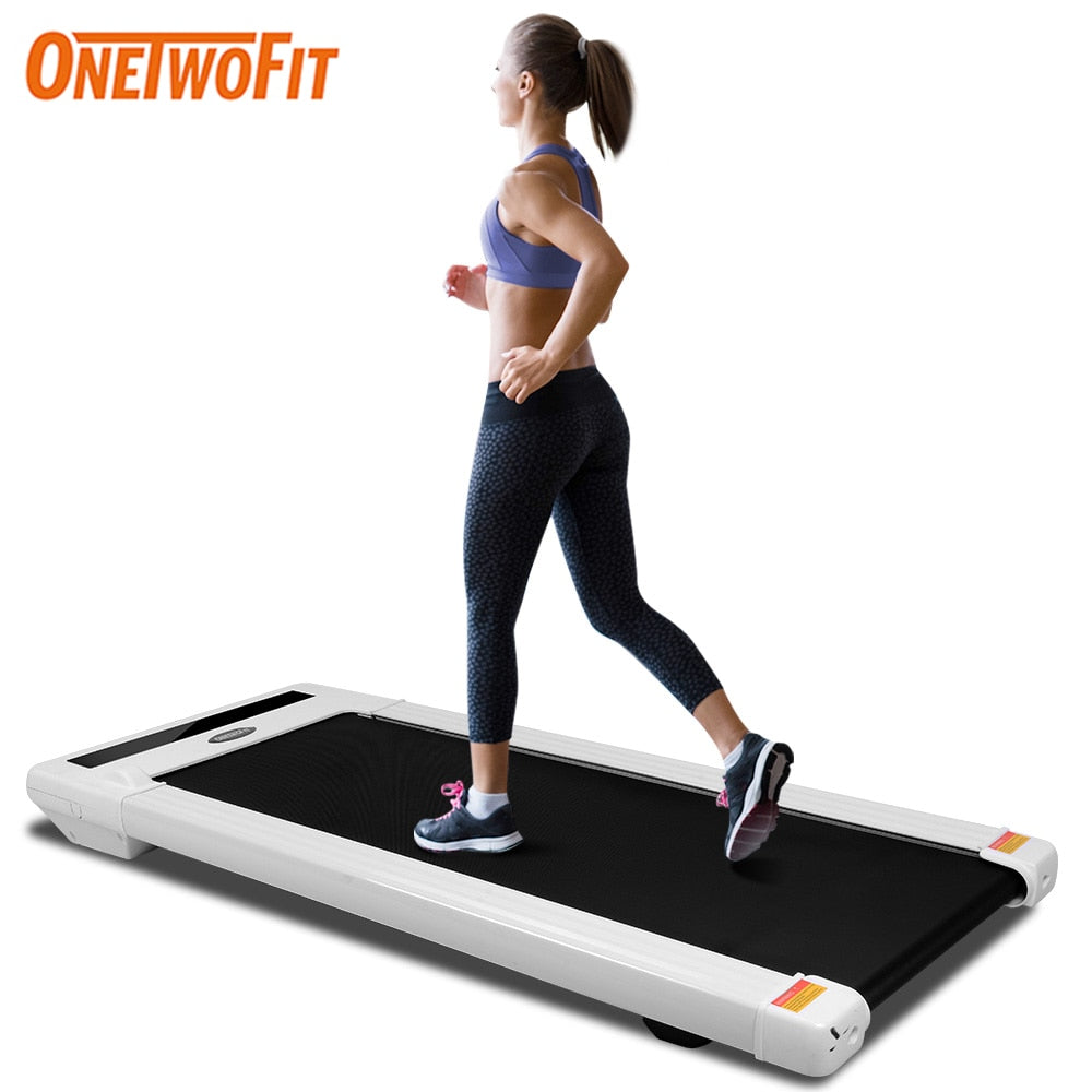 ONETWOFIT Foldable Treadmill for Home Running Walking Machine Indoor Home Gym Sport Exercise Workout Fitness Equipment
