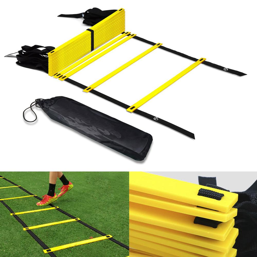 Agility Speed Jump ladder Soccer Agility Outdoor Training Football Fitness Foot Speed Ladder 3M 4M 5M 6M 7M