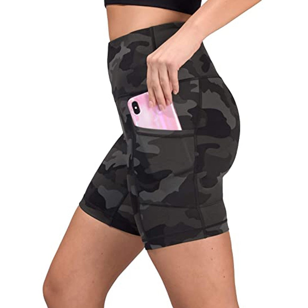 Woman Shorts Camouflage Pockets Leggings Sweat shorts Women high quality hot