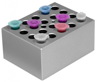 Dry Bath Blocks, MD series - MD-B0.5 + 1.5 Combination for 0.5ml tube and 1.5ml tubes
