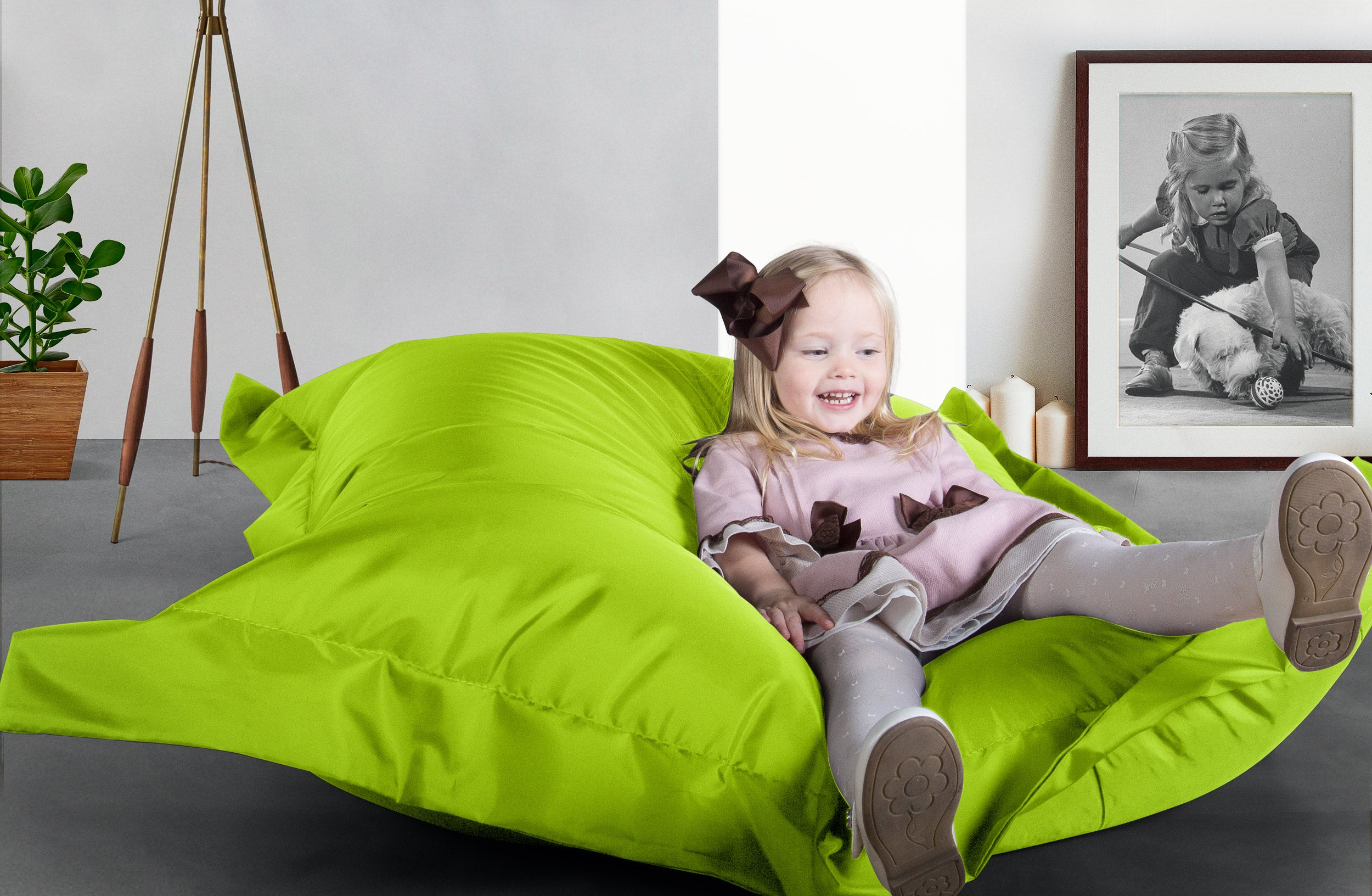 Big Bertha Original™  Indoor / Outdoor Junior Bean Bag - Lime