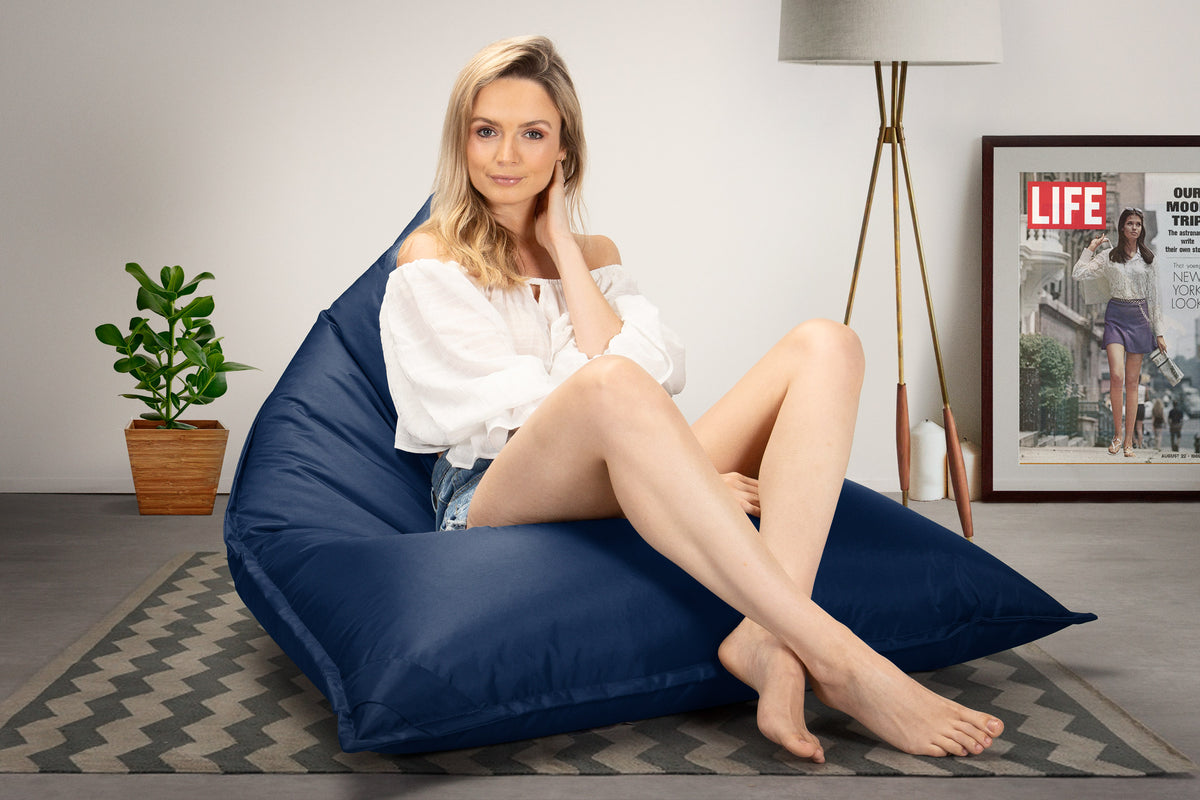 SmartCanvas™ Gaming Lounger Bean Bag - Navy