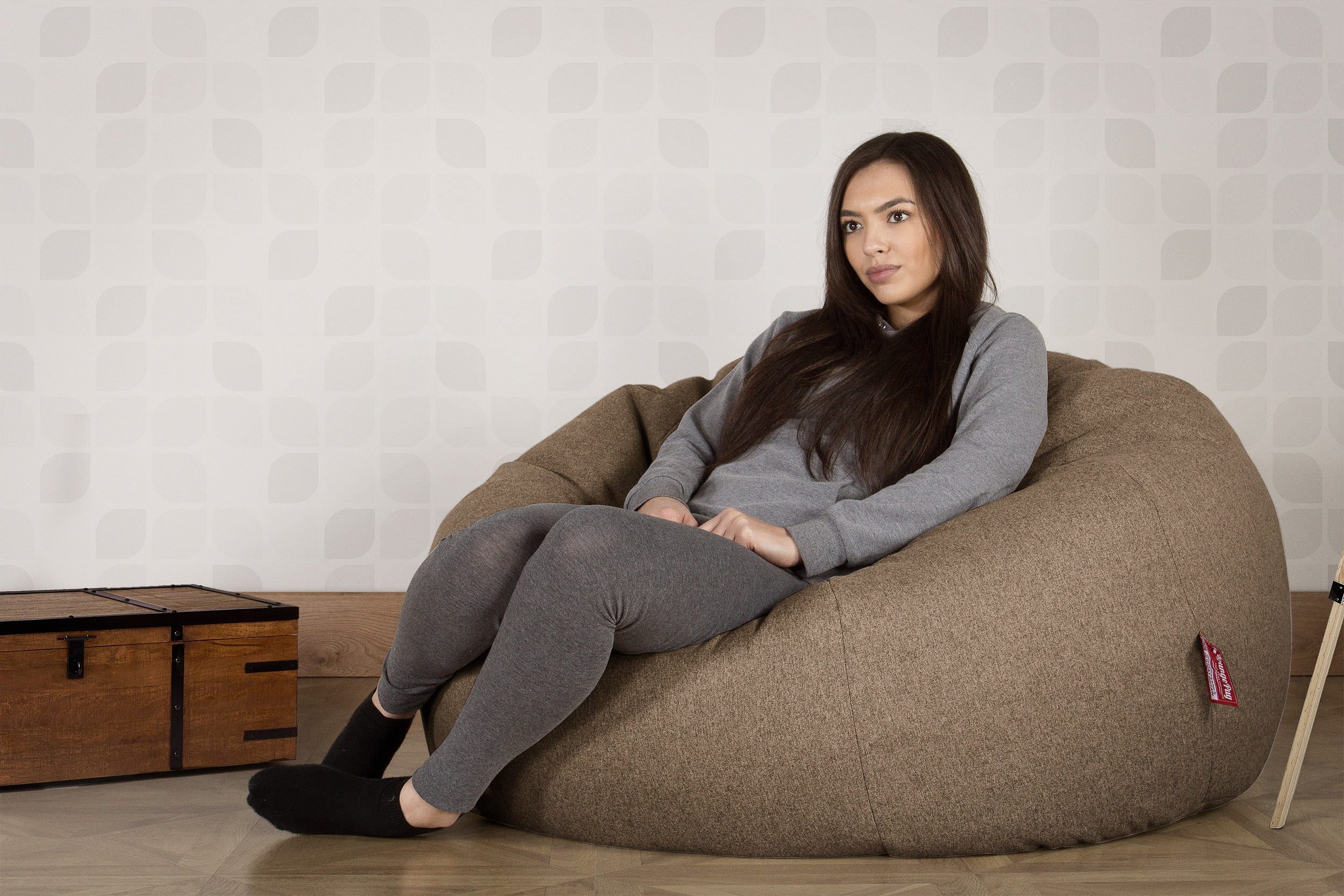 Classic Sofa Bean Bag - Interalli Biscuit