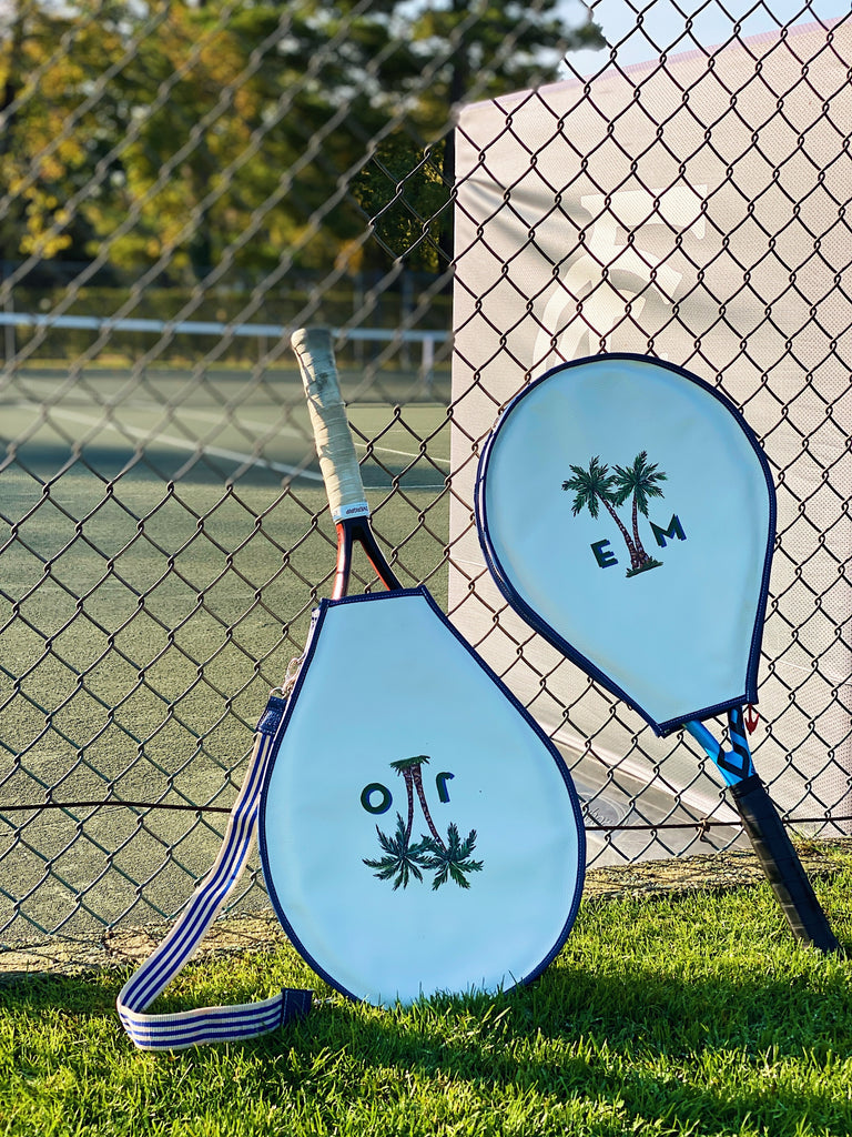 Painted Tennis Racquet Cover
