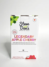 Steve and Dan's 100% Canadian Apple-Cherry Juice