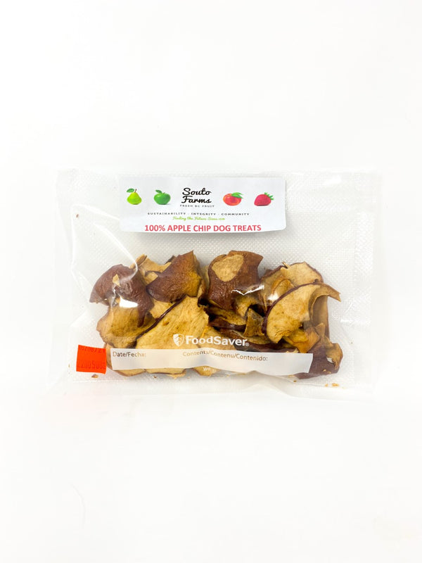 Souto Farms Apple Chip Dog Treats