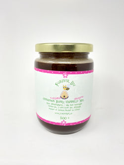 Forever Bee 500g Cinnamon Honey