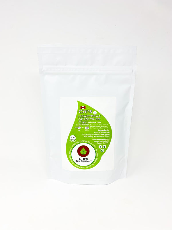 Chi's 100g Heartbeat of Rockies Chai