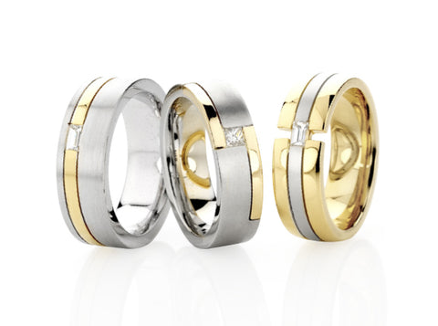 Dora Wedding Rings