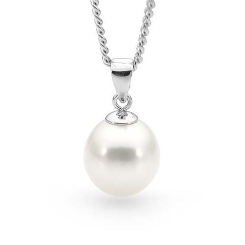 Freshwater Pearl Pendant Sterling Silver