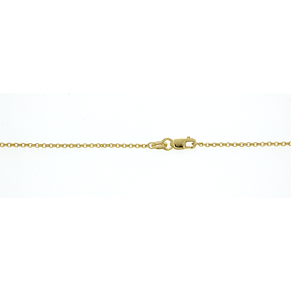 9Ct Yellow Gold Belcher Anklet