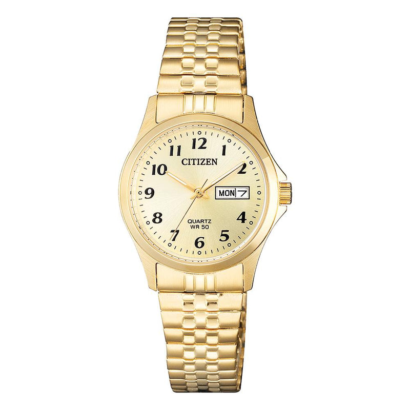 Citizen Women's Two Tone Dress Watch EQ2002-91P