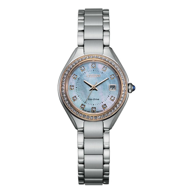 Citizen Women's Eco-Drive Dress Watch EW2556-83Y