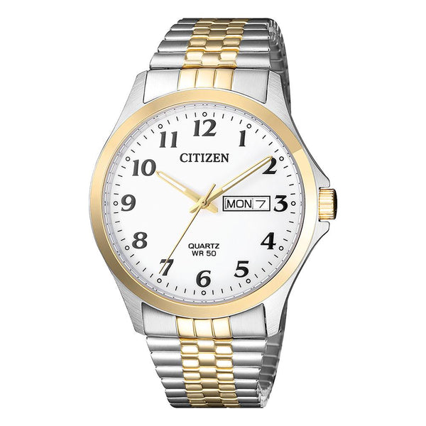 Citizens Men's Two Tone Dress Watch BF5004-93A