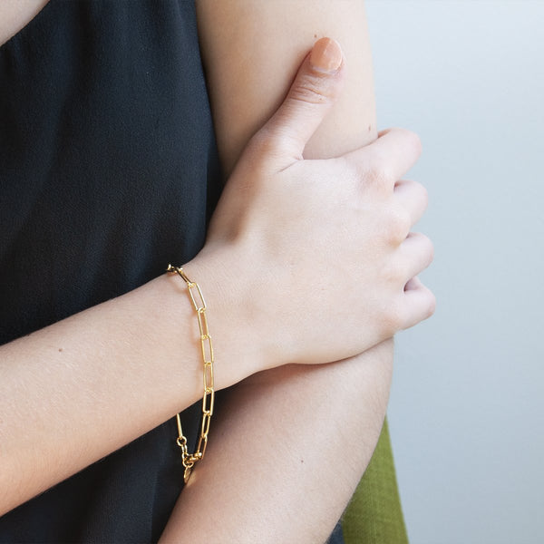 Najo Vista Gold Chain Bracelet