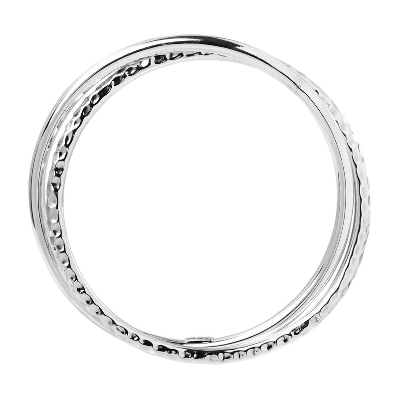 Najo Sterling Silver Madame Luck Bangle
